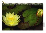 Flower - Lily - Morning Showers Carry-all Pouch