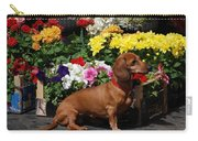 Flower Market Guard Dog Carry-all Pouch