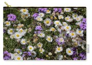 Flower Mix - Purple And White Carry-all Pouch