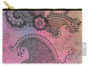 Flower N Leaves Carry-all Pouch