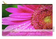 Flower Of Hope Carry-all Pouch