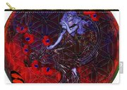 Flower Of Life Nouveau  Carry-all Pouch