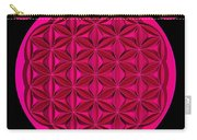 Flower Of Life - Pink Carry-all Pouch