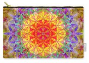 Flower Of Life Rainbow Mandala Carry-all Pouch