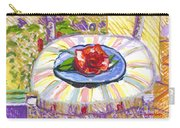 Flower On Chair Carry-all Pouch