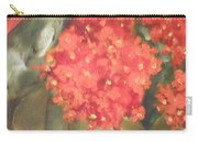 Flower On The Wall Carry-all Pouch
