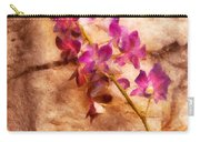 Flower - Orchid - Just Splendid Carry-all Pouch