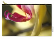 Flower-orchid-yellow Carry-all Pouch