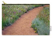 Flower Path Carry-all Pouch