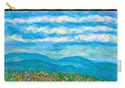 Flower Path To The Blue Ridge Carry-all Pouch