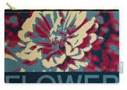 Flower Poster Carry-all Pouch