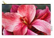 Flower Power In Pink By Diana Sainz Carry-all Pouch