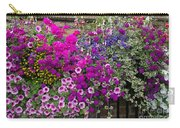 Flower Riot Carry-all Pouch