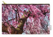 Flower - Sakura - Finally It's Spring Carry-all Pouch by Mike Savad