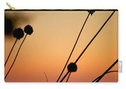 Flower Silhouettes I Carry-all Pouch