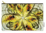 Flower Sketch Carry-all Pouch