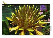 Flower - Sultry Dahlia - Luther Fine Art Carry-all Pouch