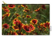 Texas Indian Blanket -  Luther Fine Art Carry-all Pouch