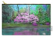 Flower Tree Reflections Carry-all Pouch
