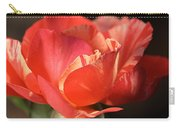 Flower-tri Toned-rose Carry-all Pouch