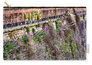 Flower Wall Along The Arno River- Florence Italy Carry-all Pouch
