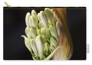 Flower-white-agapanthus-bud Carry-all Pouch