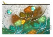 Flower Wind Carry-all Pouch