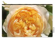 Flower-yellow Roses Carry-all Pouch