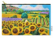 Flowered Garden Carry-all Pouch by Jean-Marc Janiaczyk