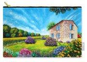 Flowered Garden Carry-all Pouch