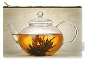 Flowering Blooming Tea Carry-all Pouch by Elena Elisseeva