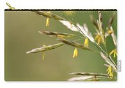 Flowering Brome Grass Carry-all Pouch