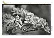Flowering Crabapple 2 Bw Carry-all Pouch