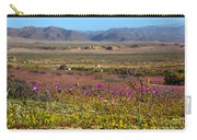 Flowering Desert Carry-all Pouch