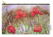 Flowering Field Carry-all Pouch