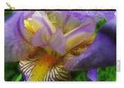 Flowering Iris Carry-all Pouch