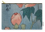 Flowering Poppies Tanzaku Carry-all Pouch