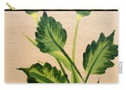 Flowering Thistle Carry-all Pouch