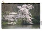 Flowering Tree At The Pond Carry-all Pouch