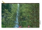 Flowering Tree Below Multnomah Falls Columbia River Gorge Nsa Oregon Carry-all Pouch