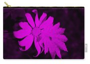 Flowerleaf Purple Carry-all Pouch