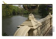 Flowerpots On Bow Bridge Carry-all Pouch