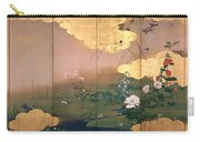 Flowers And Birds Of The Four Seasons Carry-all Pouch