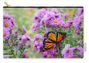Flowers And Butterfly  Carry-all Pouch