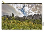 Flowers And Mountains And Sky...oh My Carry-all Pouch