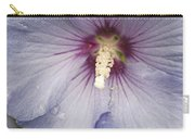 Flowers And Rain Carry-all Pouch