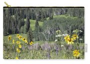 Flowers At Crested Butte Carry-all Pouch