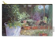 Flowers At Lida's Veranda Carry-all Pouch