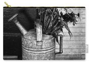 Flowers At The Door  Carry-all Pouch by Empty Wall