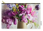Flowers At The Post Office Carry-all Pouch